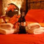 superior suite 1 glass of wine